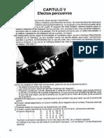 05 Efectos Percusivos - Guitarra Método Analítico - 066 - 069