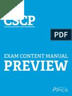 2015 Cscp Ecm Preview