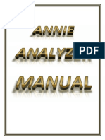 """Annie"" Analyzer/Tester Manual"