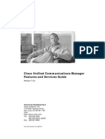 Cisco Unified Communications Manager Features and Services Guide
