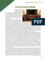 MÚSICA Y EDUCACIÓN Junio 2014