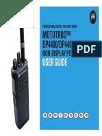 Motorola DP4400 DP4401 Manual En
