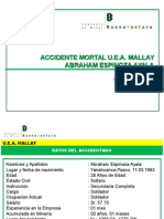 CSI-P- Accidente Mortal -MALLAY- Abrahan Espinoza - 01.03.12 - SLL