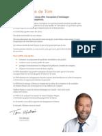 Plate-forme du NPD (2015)