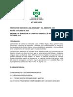 Informe de Rendición de Cuentas ADA 2010-2015