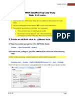E04 - SAP HANA Case Study Tasks 3-5 (View Creation) Solution