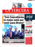 Diario La Tercera 09.10.2015