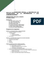 Programa Asignatura DyG