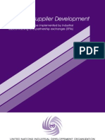 UNIDO Guide to Suppler Development