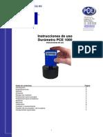 Manual Durometro Pce 1000
