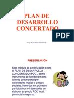 Plan Desarrollo Concertado