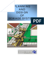 Planning and Design of Sewage