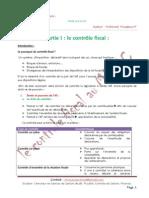 Le Controle Fiscal Au Maroc