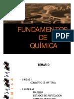 Diaporama Fundamentos de Quimica
