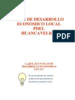 Plan Desarrollo Economico Local Pdel Hvca