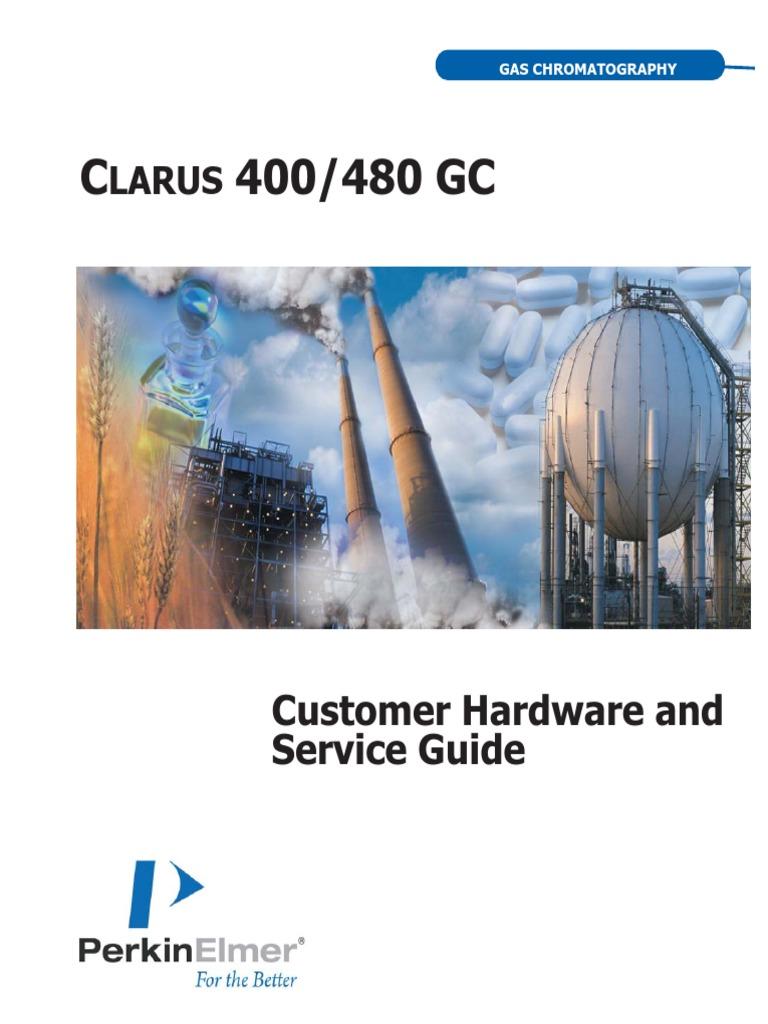 44 74527GDE Clarus400 480HardwareGuide   Gas Chromatography   Chromatography