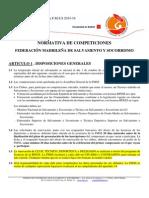 Normativa Competición 2015-16 de la FMSS