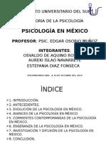 Unidad 3. Psicología en México