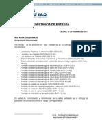 Modelo Constancia de Entrega Documentos-calidad