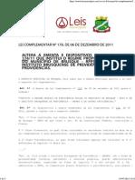 Lei Complementar 178 2011 de Brusque SC