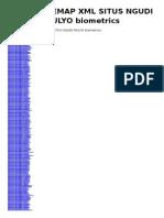 Arsip Sitemap XML Situs Ngudi Mulyo - Biometrics