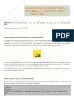 Diferencias de Navegadores Ante JavaScript (Firefox, Explorer, Chrome, Safari…)