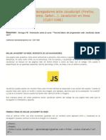 Diferencias de Navegadores Ante JavaScript (Firefox, Explorer, Chrome, Safari…)