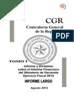 Informe y Dictamen - Tomo i