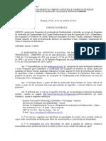Portaria Inmetro 483-2015