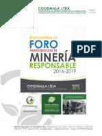 Guía Foro por la Minería Responsable 2015