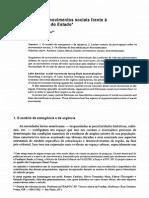 America Latina-Movimentos Sociais Frente Descentralizacao Estado