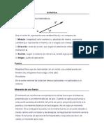 Estatica y Maquinas Simples (Teoria)