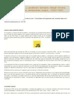 Api Canvas HTML y JavaScript. Ejemplos. Dibujar círculos, formas, gráficos, animaciones, juegos