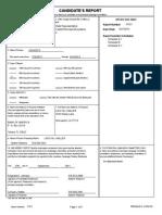 Reginald Johnson Campaign Finance Report
