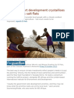 Climate-smart Development Crystallises on Senegal's Salt Flats