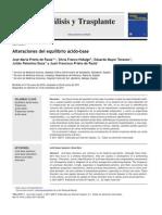 Alteraciones del equilibrio ácido-base