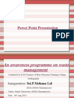 Ppt on Waste Management