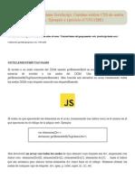 GetElementsByTagName JavaScript. Cambiar Estilos CSS de Nodos Con Style