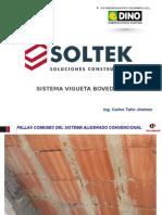 Sistema de Vigueta Bovedllla SOLTEK - CPSAA