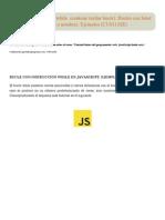 While JavaScript. Do While. Continue (Saltar Bucle). Bucles Con Label (Etiqueta o Nombre)