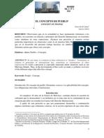 El Concepto de Pueblo - Graciela R. Salas