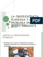 Obsolescencia planeada y su problema en el medio ambiente