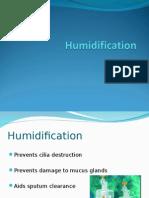 Humidification