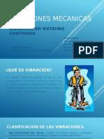 VIBRACIONES MECANICAS