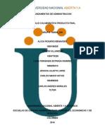 Trabajocolaborativo Productofinal Fundamentos de Administracion