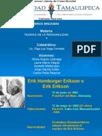 Erik Erikson Diapositivas de Todos