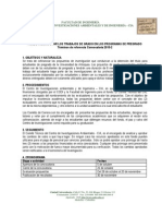 Terminos de Referencia Convocatoria Trabajos de Grado 2015-2