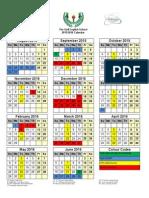 GES Calendar 2015