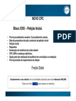 Slide – Bloco XXIX – Petição Inicial.