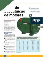 WEG Plano de Substituicao de Motores Artigo Tecnico Portugues Br